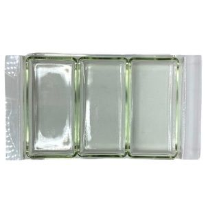 Vintage MCM Acrylic Lucite Glass Serving Dish Vanity Tray